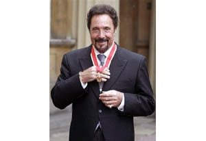 Singer Tom Jones is knighted