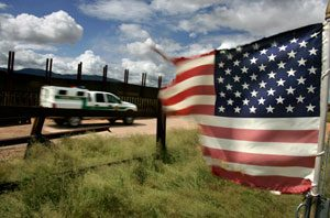 First phase of border fence nearly up