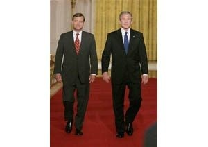 Bush nominates Roberts for chief justice
