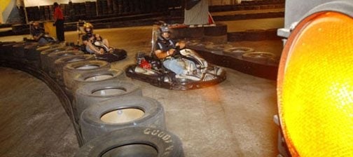 Kart track fulfills owner's dream