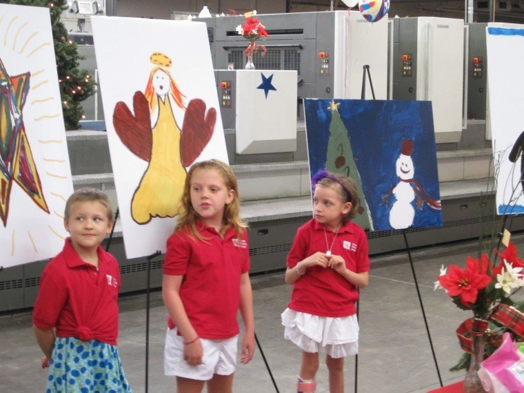Phoenix Children's Christmas Cards