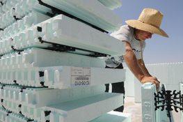 Builders lock onto new materials to help boost 'green' quotient