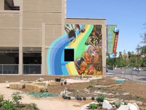 Tempe garden mural