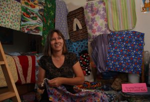 Scottsdale woman collects bags for kids' stuff