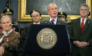 Stephen McDonald; Michael Bloomberg; Raymond Kelly; Peter King