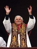 Germany's Cardinal Ratzinger named new pope