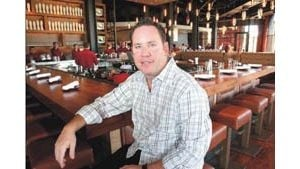 Restaurateur revels in drama of new business