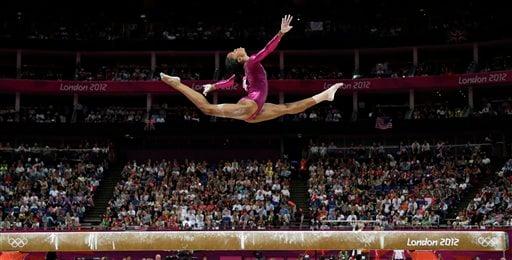 APTOPIX London Olympics Artistic Gymnastics Women