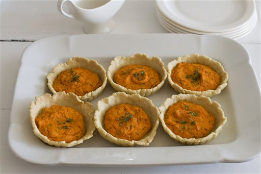 Gourmet Carrot Tarts