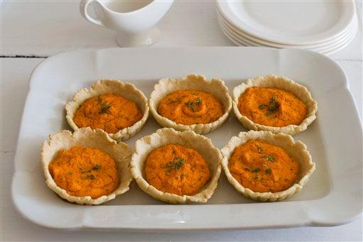 Gourmet Carrot Tarts