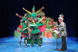 "<p>The cast of Childsplay's ""Junie B. Jones in Jingle Bells, Batman Smells!"" [Courtesy Tim Trumble, Childsplay]</p>"