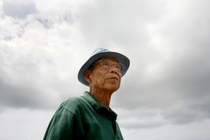 Japanese vet, 81, makes rare return to Iwo Jima