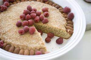 Food Almond Butter Torte