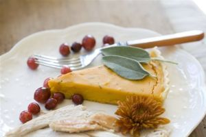 Food Deadline Squash Tart
