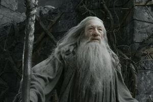"<p>This image released by Warner Bros. Pictures shows Ian McKellen in a scene from ""The Hobbit: The Desolation of Smaug."" (AP Photo/Warner Bros. Pictures)</p>"