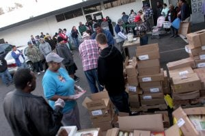 Food banks brace for busy Thanksgiving