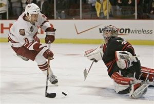 Coyotes top Chicago in shootout