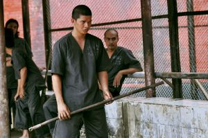 "<p><span>Iko Uwais as Rama in a scene from ""The </span><span style=""color: red;"">Raid</span><span> </span><span style=""color: red;"">2</span><span>."" (AP Photo/Sony Pictures Classics)</span></p>"