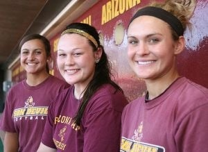 A coincidental journey for ASU softball players