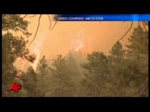 Officials: Campfire May Have Sparked AZ Wildfire