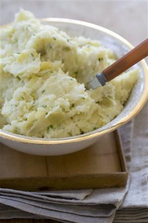 Food Thanksgiving Mashed Potatoes