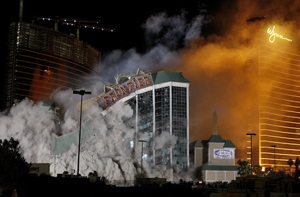New Frontier imploded to make way for $8B resort