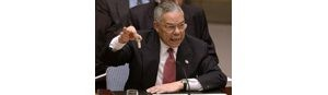 02/05 - Powell states case that Iraq is deceiving United Nations