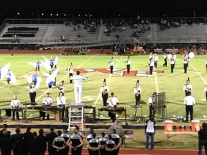 Williams Field marching band