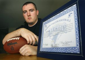 Swartz at crossroads after losing Air Force scholarship