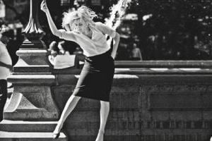 Greta Gerwig of the movie Frances Ha