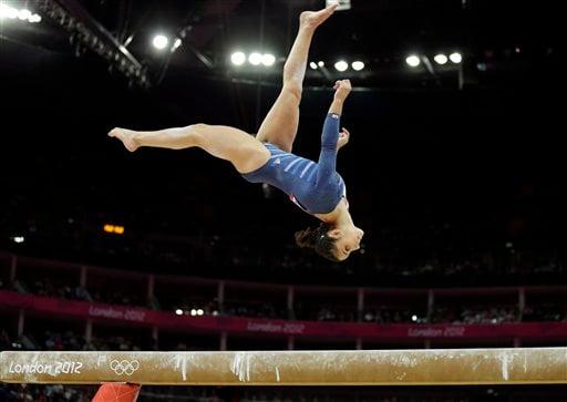 London Olympics Artistic Gymnastics Women