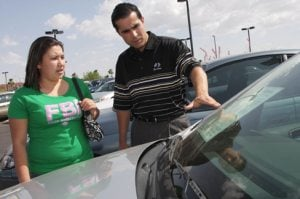 Auto dealers in a slump