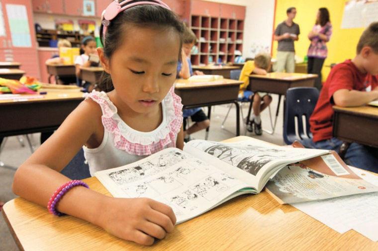 Third grade reading