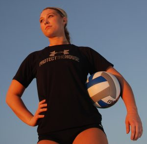 Tribune girls volleyball player of the year