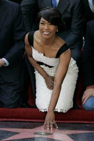 Angela Bassett gets Hollywood star