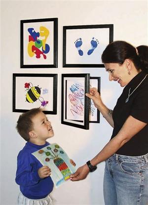 Spring Homes-Kids Art