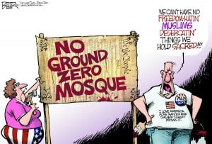 Mosque protest