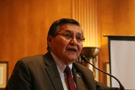 Navajo Nation President Ben Shelly