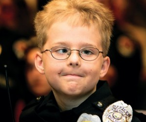 Honorary policeman, 9, loses brain tumor battle