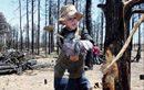 04/27 - Boy Scouts clear away fire debris