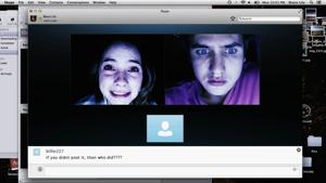 "<p>In this image released by Universal Pictures, Shelley Henning, left, and Moses Storm appear in a scene from ""Unfriended."" (Universal Pictures via AP)</p>"