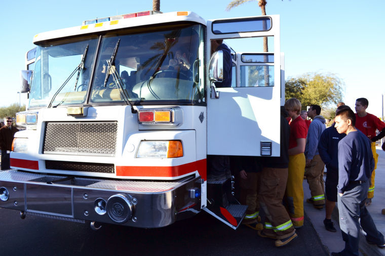 Fire Truck Donation to EVIT