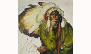 Go Western with cowboy art exhibit, Artwalk