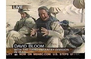 NBC's David Bloom dies covering Iraq war