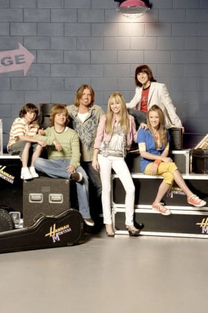The cast of 'Hannah Montana'
