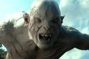 "<p>This image released by Warner Bros. Pictures shows the character Azog, performed by Manu Bennett, in a scene from ""The Hobbit: The Desolation of Smaug."" (AP Photo/Warner Bros. Pictures)</p>"