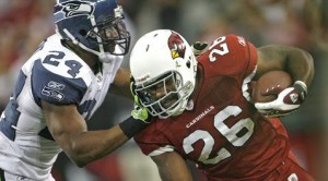 Rookie RB Wells' role growing with Cardinals
