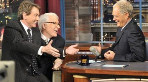 Jokes, apologies from David Letterman on his show