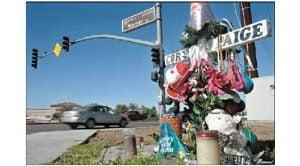 Roadside memorials dot East Valley landscape