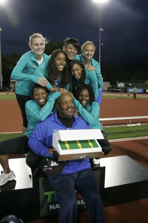 Chandler High girls track